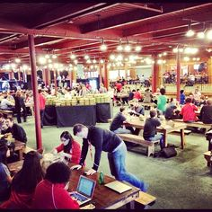 Lunch time at #twiliocon