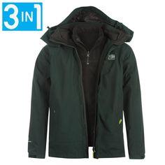 Karrimor 3 in 1 Jacket Mens.Αδιάβροχο και διαπνέον μπουφάν για όλες τις χρήσεις βουνού και πόλης, με αποσπώμενη επένδυση fleece. Τιμή 76,90 ευρώ.