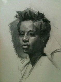 How to turn a sketch that gets just a glance into a drawing people stare at. A sketch drawing by Monica Bean.