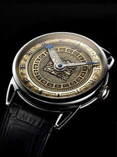 "Mark the end of the world according to Mayan calendar with the ""De Bethune Ninth Mayan Underworld"""
