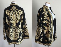 The Bohemian Spirit Black Wool, Kimono Top, Bohemian, Dresses With Sleeves, Coats, Long Sleeve, Jackets, Women, Fashion