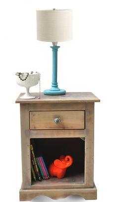 Narragansett Nightstand rustic solid wood by DreamcatcherDecor, $89.99