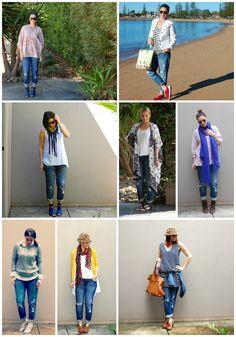 Deja Vu: Boyfriend Jeans. Boyfriend jeans are a staple in my wardrobe. You can't go passed the comfort.