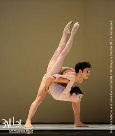 Maria Kochetkova and Jaime Garcia Castilla in McGregor's 'Chroma' at SF Ballet (Erik Tomasson)
