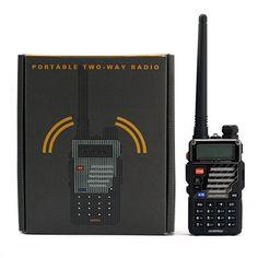 Baofeng Uv-5R+ Dual-Band 136-174/400-480 Mhz Fm Ham Two-Way Radio (Black), 2015 Amazon Top Rated Two-Way Radios #CarAudioorTheater