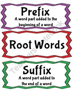 PREFIX AND SUFFIX ASSESSMENT FREEBIE! - TeachersPayTeachers.com ...