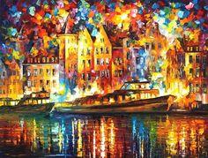 Pinturas de Afremov