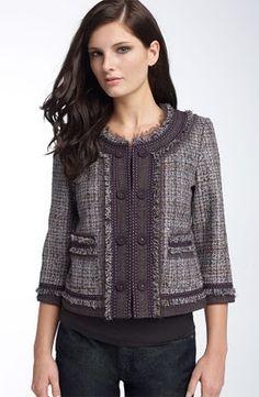 Chanel Tweed Fringe Jacket