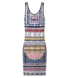 Clover Canyon City Palace Printed Sleeveless Dress.