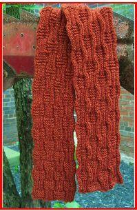 Riverpath Scarf - Knit