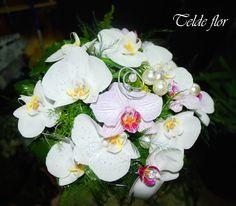 Ramo de Novia Orquideas Telde flor floristerias Ramos de Novia floristería Telde flor Bodas Ciudad de Telde