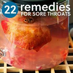 22 Sore Throat Remedies- to help ease the pain. 22 Natural Sore Throat Remedies ~ to help ease the pain. It's that time of year again ~ Be prepared. Sore Throat Remedies, Cold Remedies, Natural Health Remedies, Herbal Remedies, Natural Cures, Natural Medicine, Herbal Medicine, Home Health, Health And Wellness