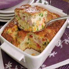 Omelete-suflê de forno – Caderno de Receitas