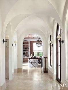 Mediterranean revival residence in Miami by Z.W. Jarosz Architect. Luxe Interiors + Design.