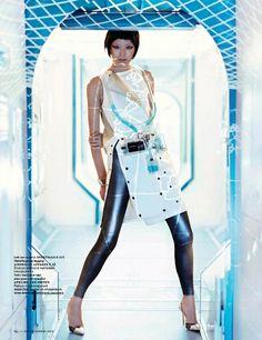 Shenzhou 9 Photographer: Marc De Groot Model: Grace Guozhi Styling: Marije Goekoop Hair & Make-Up: Irena Ruben