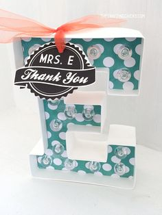 Monogram Marquee Tea