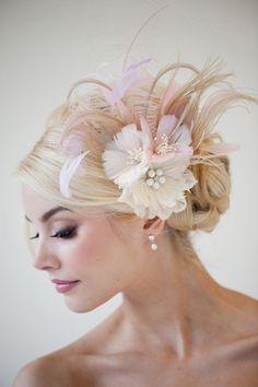 """Wedding Accessories: Hair Adornments by """"Powder Blue Bijoux"""" - Munaluchi Bridal Magazine"""