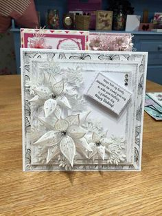Chloe's Christmas stamps 2016 Christmas Cards 2018, Xmas Cards, Poinsettia Cards, Christmas Poinsettia, Chloes Creative Cards, Stamps By Chloe, Winter Karten, Scrapbook Cards, Scrapbooking