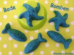 Schnin's Kitchen: DIY Sprudel-Bade-Bomben