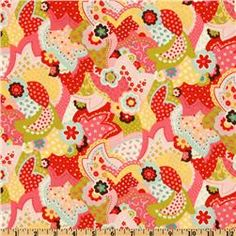 Moda Sophie Overlay Pink Sorbet.  $8.98 yd.