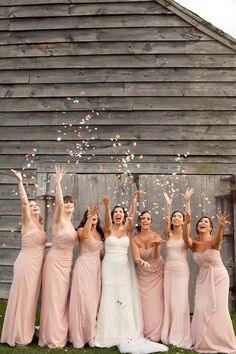 Because who doesn't love to throw confetti?Related: Fun Things to Throw at the Newlyweds