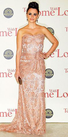 Dolce blush evening gown