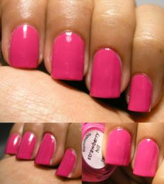 Nails Inc Strawberry hill Strawberry Hill, Nails Inc, Essie, Ice Cream, Coats, Pink, Top Coat, Ongles, No Churn Ice Cream