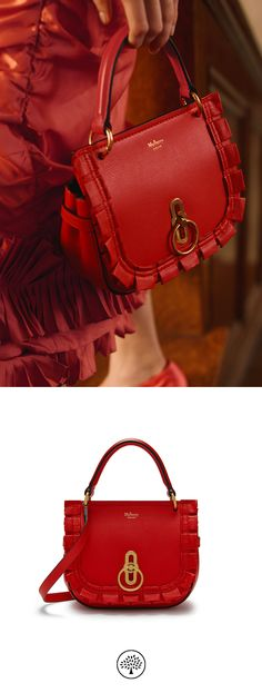 99baedb499c Shop the Small Amberley Satchel on Mulberry.com. Inspired by Edwardian  style, the