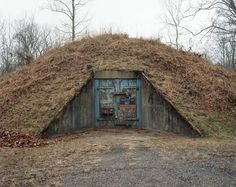 TNT storage igloo Point Pleasant, WV (home of the Mothman)