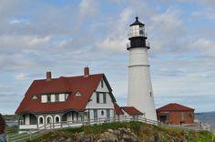 Portland lighthouse- short trip from Ogunquit.