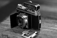 """Kodak Retina folding camera (Type 013)"""" - was completely rusty, but I have been busy with it for an afternoon and it works perfectly. Unexpectedly very sharp pictures!"""
