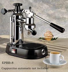 Espresso Outlet - La Pavoni Europiccola Lever Espresso Machine Chrome/Black, EPBB-8, $739.00 (http://www.espressooutlet.net/la-pavoni-europiccola-lever-espresso-machine-chrome-black-epbb-8/)