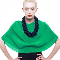 Grace Hamilton Jewellery - Handcrafted Crochet Necklaces at http://eu.fab.com/sale/3563/