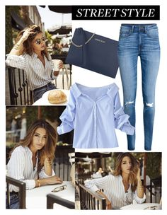 """Street style forever and ever"" by sophie01234 ❤ liked on Polyvore featuring Armani Jeans, H&M and WithChic"
