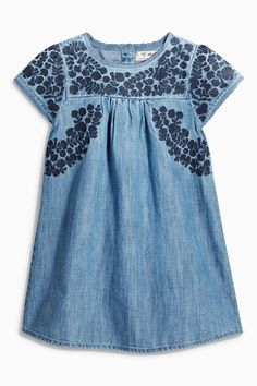 Buy Denim Folk Dress (3mths-6yrs) online today at Next: United States of America