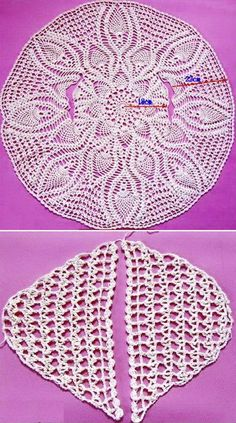 Beautiful circle sweater pattern 1 … pattern 2 … this sweater has been inspired from Crochet Circle Vest, Crochet Poncho Patterns, Crochet Circles, Crochet Chart, Diy Crochet, Vintage Crochet, Crochet Stitches, Stitch Patterns, Knitting Patterns