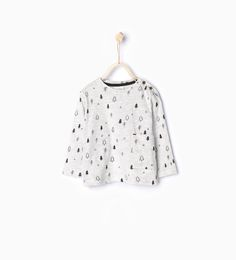 Bild 1 von Langarm-Shirt mit Baummotiv von Zara