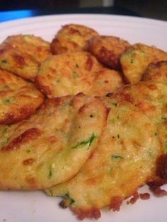 Accidentally Wonderful: Baked Zucchini Parmesan Rounds