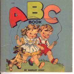 Vintage / Antique 1943 Margot Voigt ABC by LifeStoriesRetold