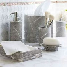 Marble Bathroom Accessories Cloey Bath By Ballard Designs