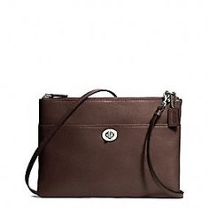 Coach :: LEGACY TURNLOCK CROSSBODY IN LEATHER