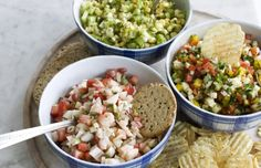 Three options for  fantastic salsas -- without tomatoes.  #salsa #salsarecipe #recipe