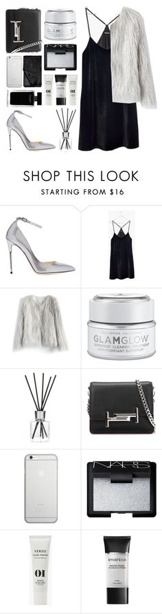 """LA Devotee"" by angeline-wonderwall ❤ liked on Polyvore featuring Jimmy Choo, Madewell, Chicwish, GlamGlow, The White Company, Tod's, Native Union, Narciso Rodriguez, NARS Cosmetics and Verso"