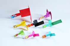 DIY Toy: Paper Helicopter. Once your child has made one, suggest she try to design and build a better one