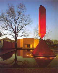 Houston, Rothko Chapel w/Obelisk