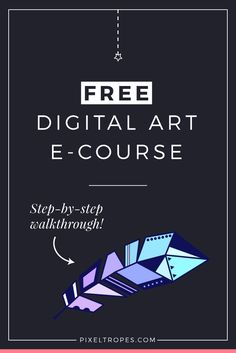 Interested in learning digital art? Follow the link and sign up now for a free, self-paced e-course on digital art fundamentals for beginners! This step-by-step, easy-to-follow online tutorial walkthrough will provide you with a comprehensive introduction to the basics of creative digital illustration in Adobe Photoshop—no experience required. You'll receive the first lesson immediately after signing up!