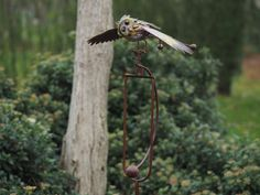 Tuinsteker uil   Windmolen & tuinsteker   Steeg80 moestuin enzo Bird Feeders, Outdoor Decor, Products, Gadget, Teacup Bird Feeders