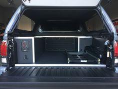 2017 Toyota Tacoma TRD PRO custom truck bed storage solution