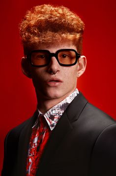 David Arnal | Photographer Hair Magazine, Piercings, Photo Work, Ginger Hair, Hair Inspo, Hair Trends, Real Life, Look, Inspiration