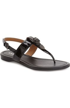 COACH 'Cassidy' T-Strap Sandal (Women) available at #Nordstrom